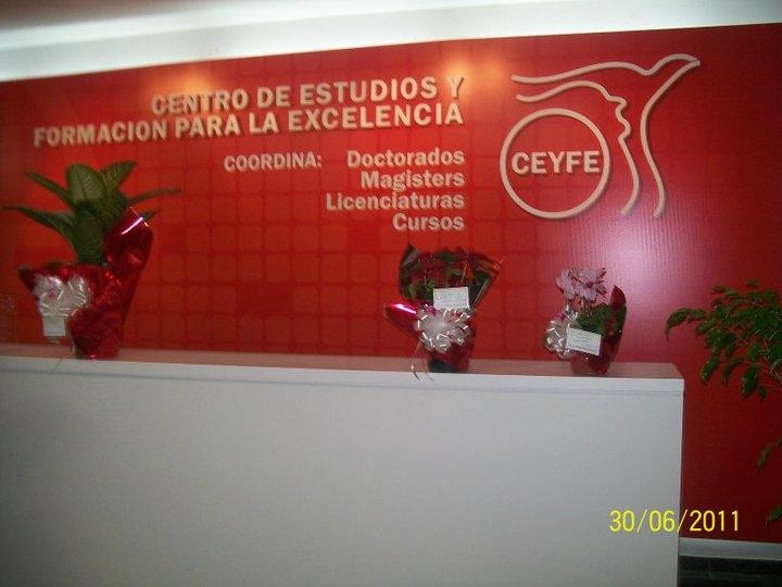 CEYFE CUENTA YA CON DOS DOCTORES TITULADOS A PARTIR DE SUS CONVENIOS CON UNIVERSIDADES ESPAÑOLAS