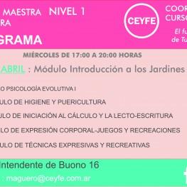 CRONOGRAMA AUXILIAR DE MAESTRA JARDINERA (1)