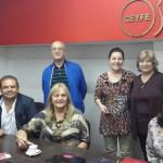 REUNIÓN DEL EQUIPO DIRECTIVO CON COORDINADORES DE ESQUEL, TRELEW Y VIÑA DEL MAR