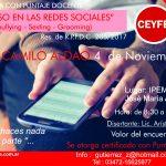 """Jornada con puntaje oficial """"Acoso en las redes sociales"""" en Sedes: Camilo Aldao y Villa Maria"""