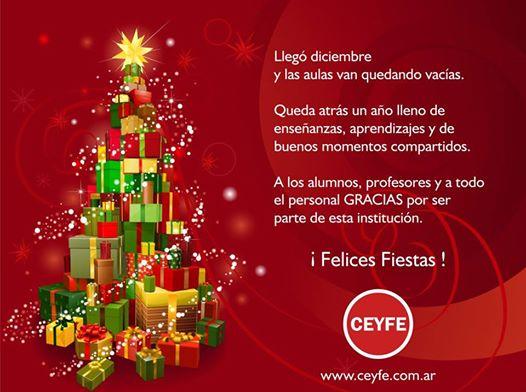 ¡Felices Fiestas!