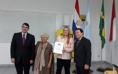 ¡Felicitaciones a la Mg. María Lucía Madussi!